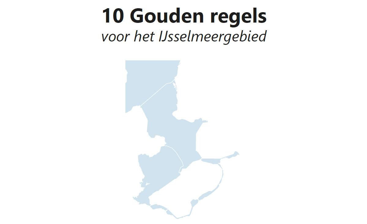 http://tien%20gouden%20regels%20IJsselmeergebied
